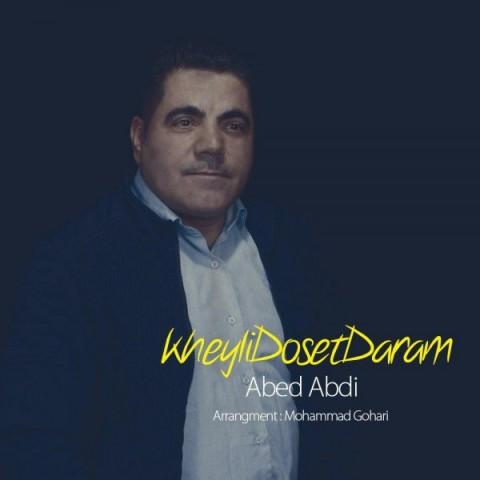 دانلود موزیک جدید عبد عبدی خیلی دوست دارم